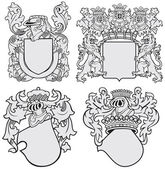 Fotografie Set of aristocratic emblems No11