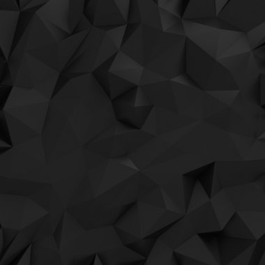 Black crumpled background