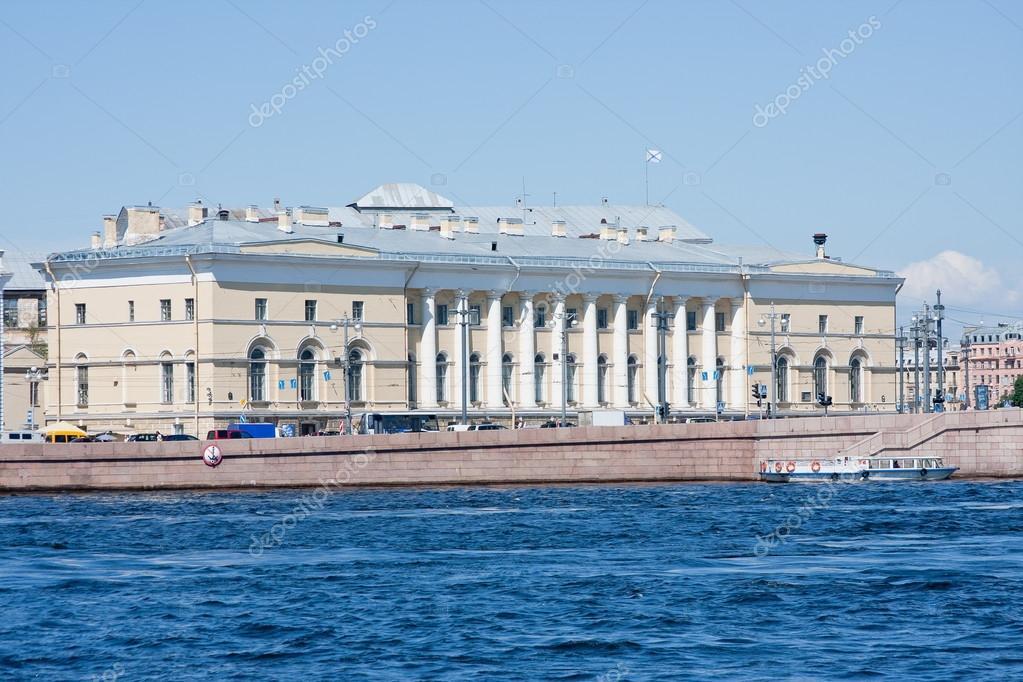 University Embankment, Saint Petersburg, Russia