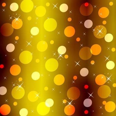 an abstract gold background