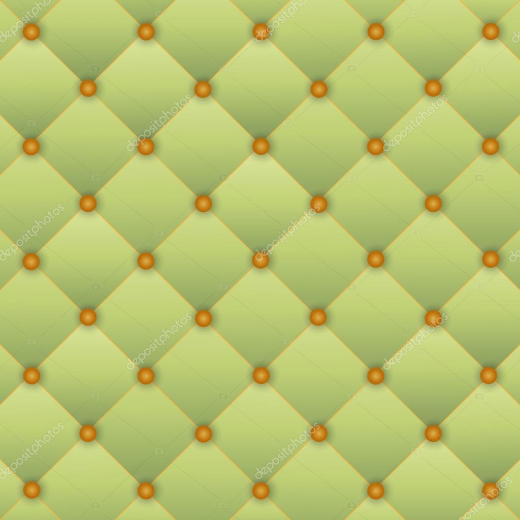 Capitonnage Porte dedans fond vert du capitonnage de porte — image vectorielle galina2703