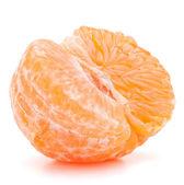 polovinu oloupané mandarinka nebo mandarinky ovoce