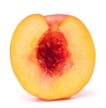 Nectarine fruit half