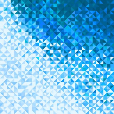 Abstract Lights Blue White Winter Sky or Snow Background. Pixel