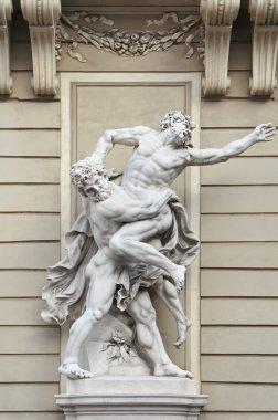 Heracles vs Antaeus