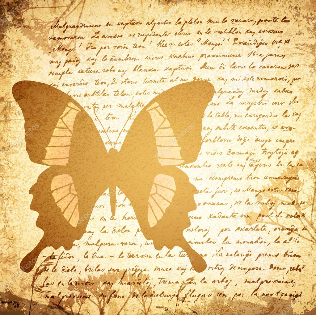 Old Letter Background