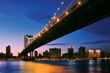 NewYork manhattan at sunset - New York City
