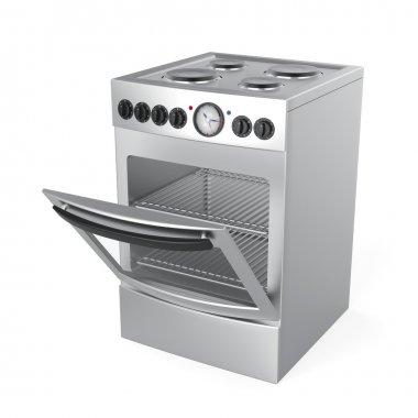 Inox electric stove