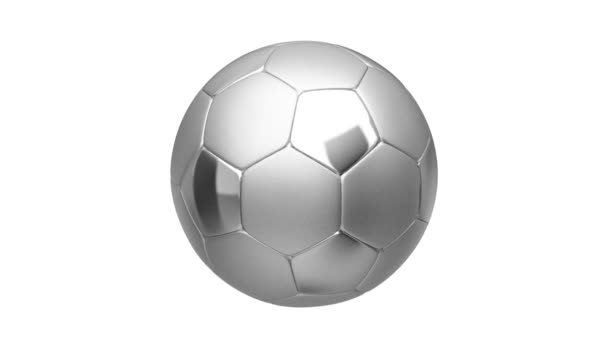 stříbrný fotbalový míč