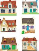 Fassaden - edinburgh - Karikatur