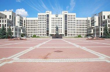 Parliament building in Minsk. Belarus