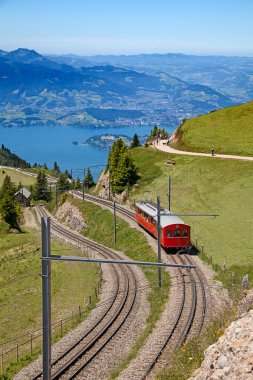 Swiss alpine railway