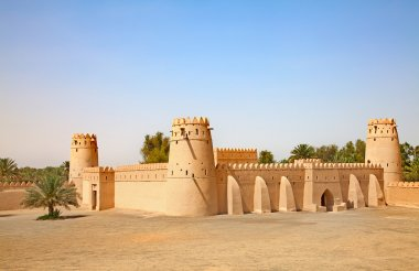 Jahili fort in Al Ain oasis