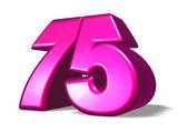 kreslený číslo