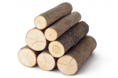 Heap of several logs