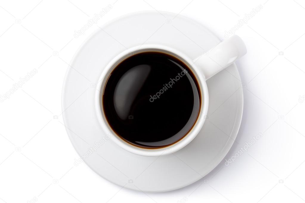 Mug Photo Ceramic Stock The SaucerTop White On View— Coffee n0OyPvN8wm