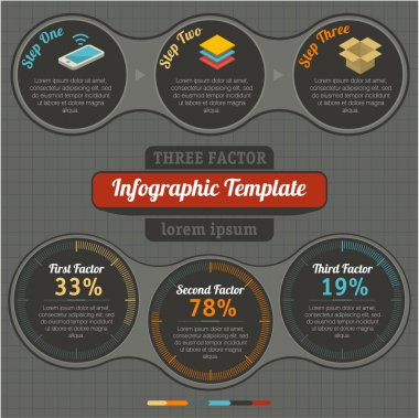 Detail infographics set.