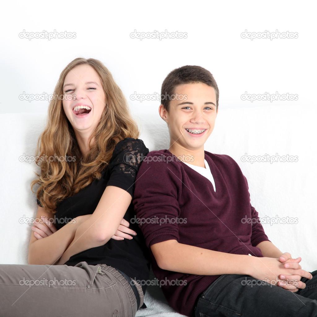 Сестра и брат подростки