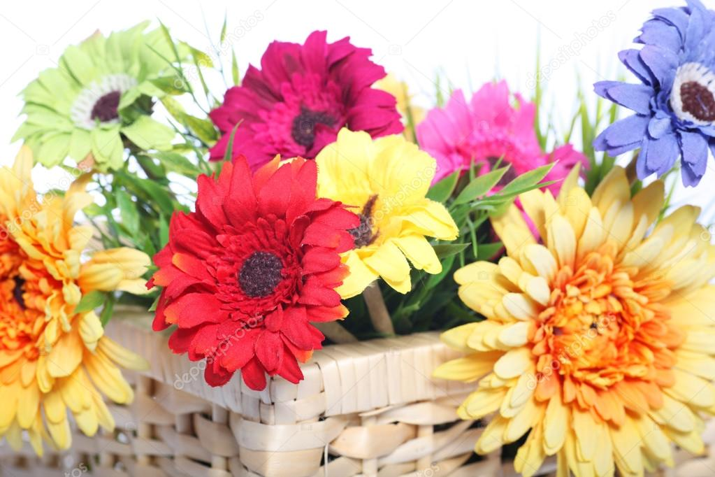 Корзины цветов картинки красивые крупным планом