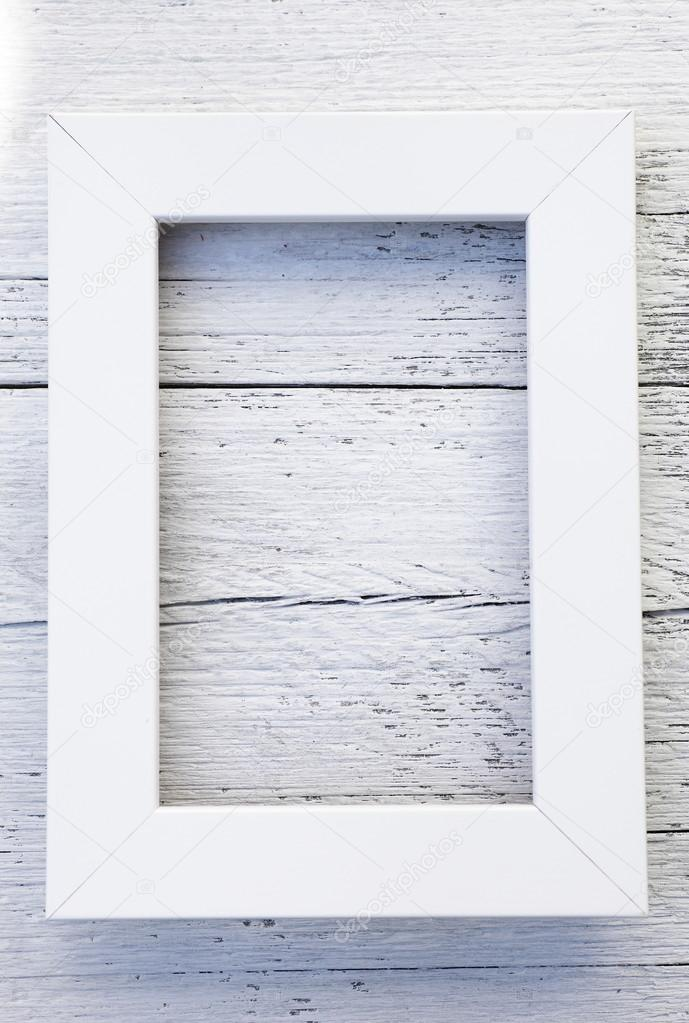 Simple rustic white frame and textured background — Stock Photo ...