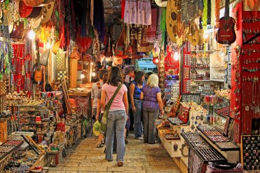 Old Jerusalem market.