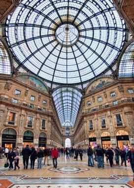 Galleria Vittorio Emanuele II. Milan, Italy.