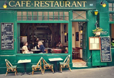 Typical parisian cafe.