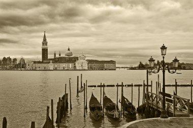 Grand canal and San Giorgio Maggiore church.