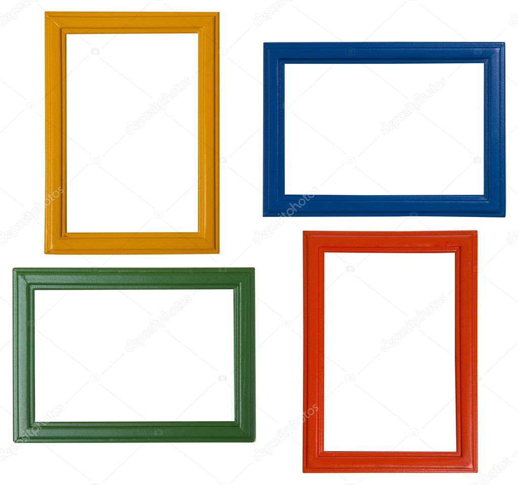 Modern picture frames — Stock Photo © Colour #22134257