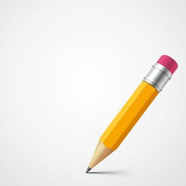 Pencil vector background. Eps 10.