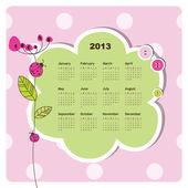Fotografie New year calendar 2013