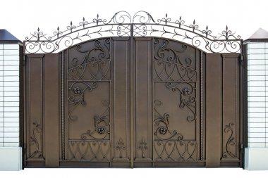 Forged decorative gates.