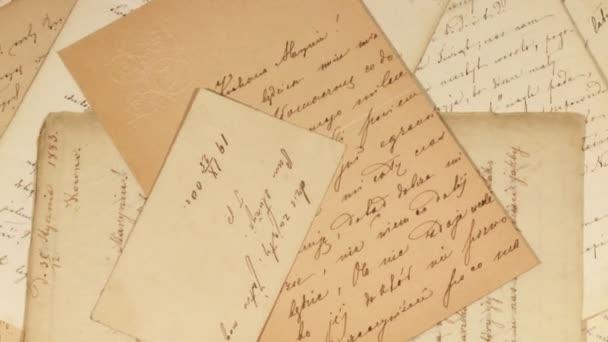 starožitný dopisy