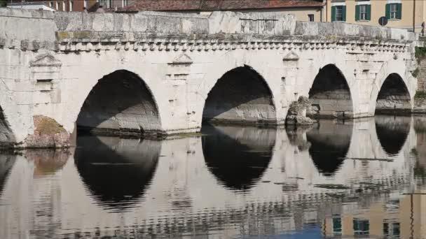 Tiberius Bridge closeup, Rimini