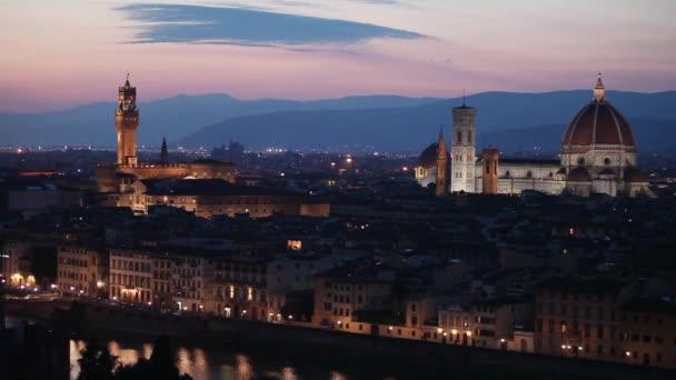 città medievale di Firenze con il duomo, Italia