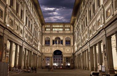 Uffizi Gallery. Night Shot