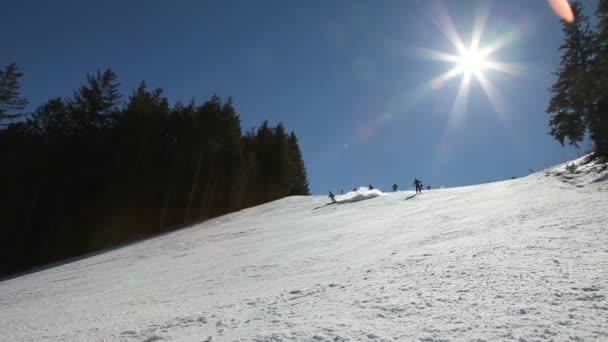lyžařské břečka