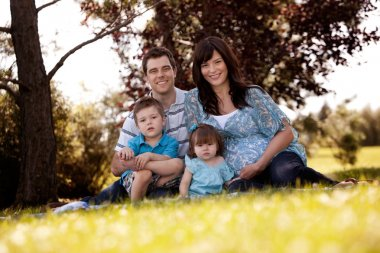 Family Portrait in Park