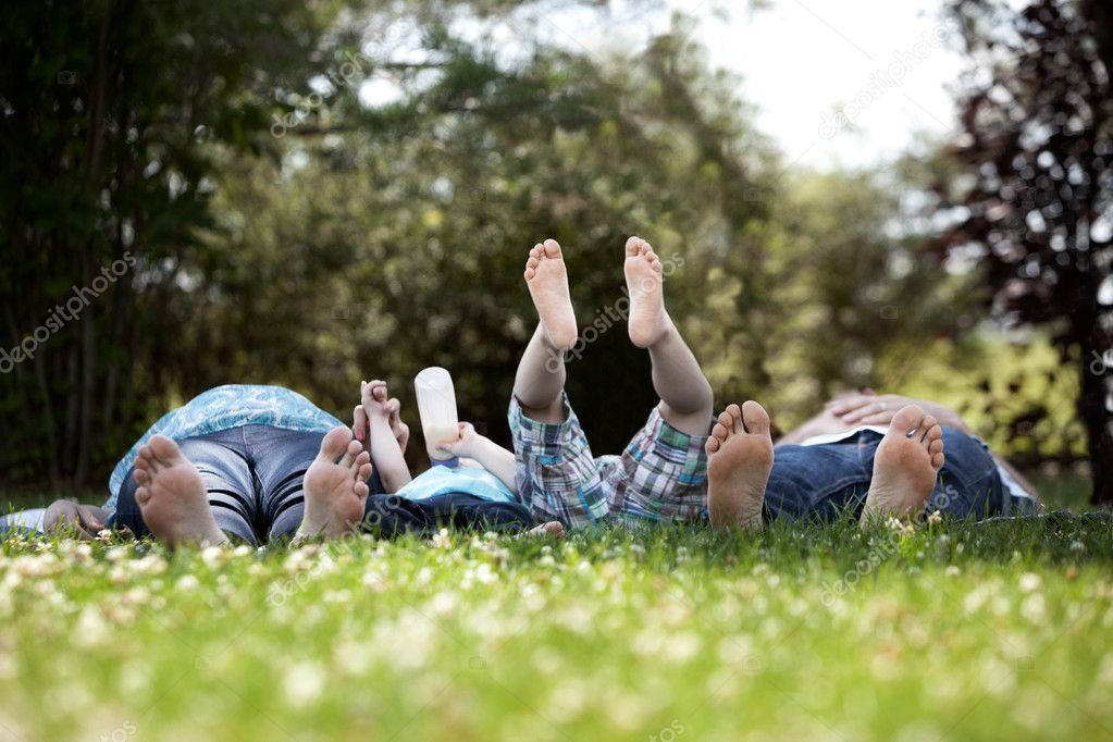 Family Portrait of Feet