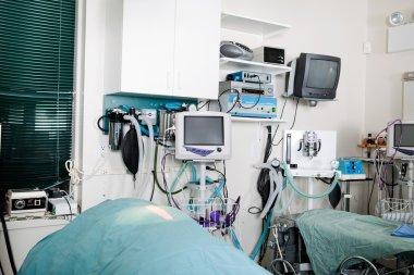 Operating Room In A Veterinary Hospital