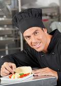 Happy kuchaři obloha jídlo