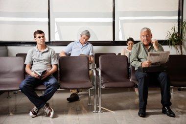 Waiting In Hospital Lobby