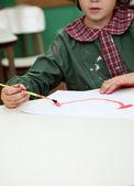 malý chlapec obraz v umění třídě