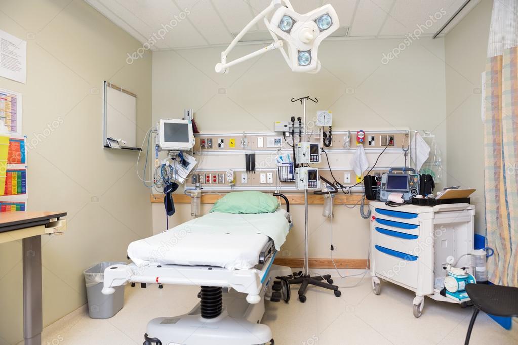 Emergency Hospital Room