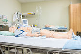 Fotografie Dummies On Hospital Bed
