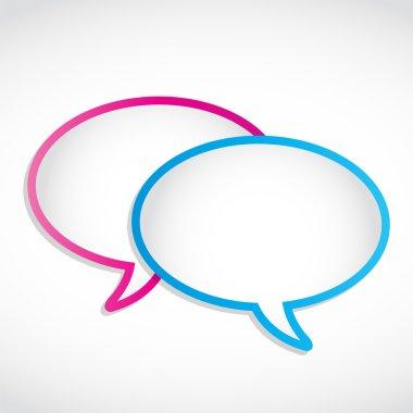 Speech Dialog Bubbles