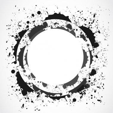 grunge splash design