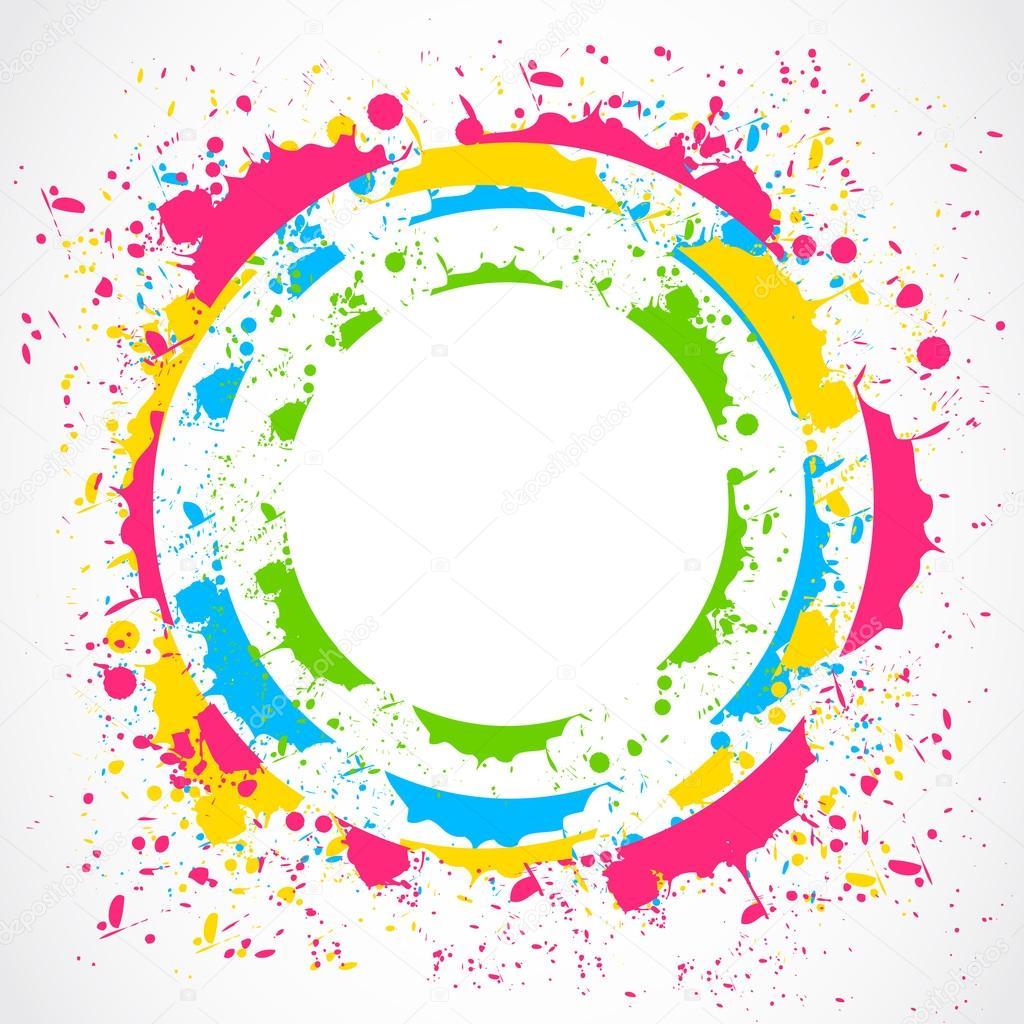 Colorful converse circle