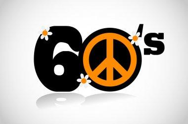 sixties peace symbol