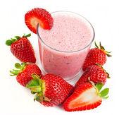 Fotografie Erdbeer smoothie